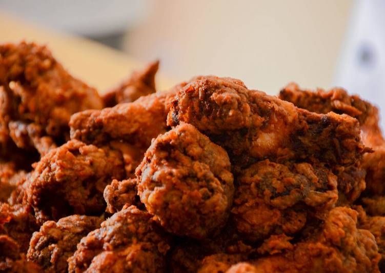 Recipe of Any-night-of-the-week Crunchy chicken wings