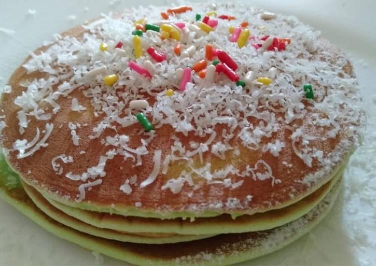 Pancake (mudah dan fluffy)