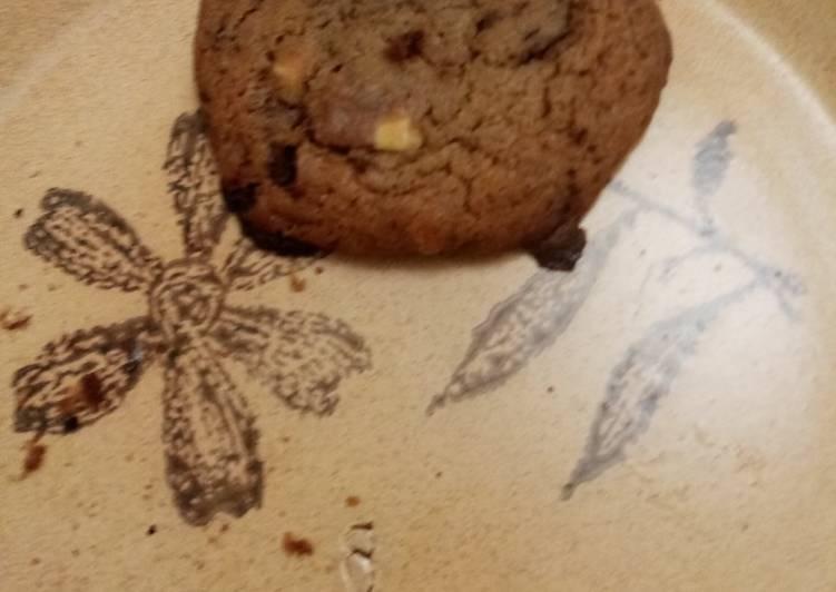 Recette Parfait Cookie 3 chocolat 😋🍫