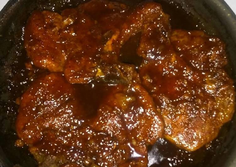 Honey Barbecue Pork Chops