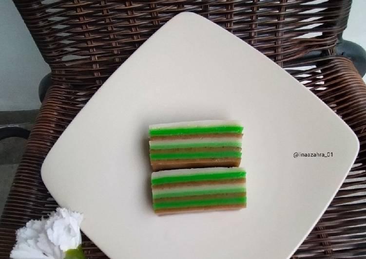 *kue lapis tepung beras, Enak dan nikmat* - cookandrecipe.com