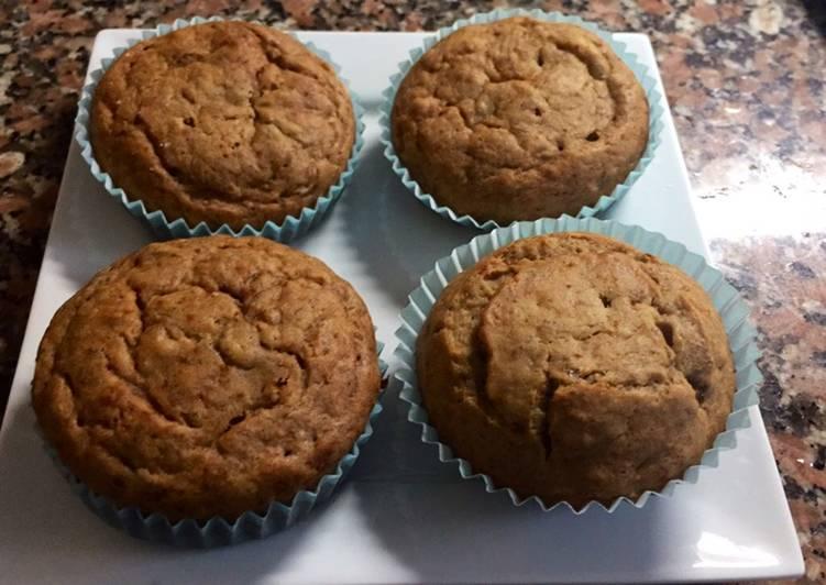 Easiest Way to Prepare Award-winning Healthy honey cinnamon walnut banana muffins