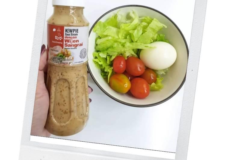 Quick Salad (Super Fresh, Hemat dan Enak! My Fav 💕)