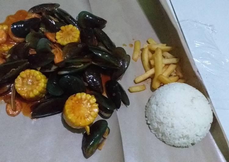 Seafood homemade