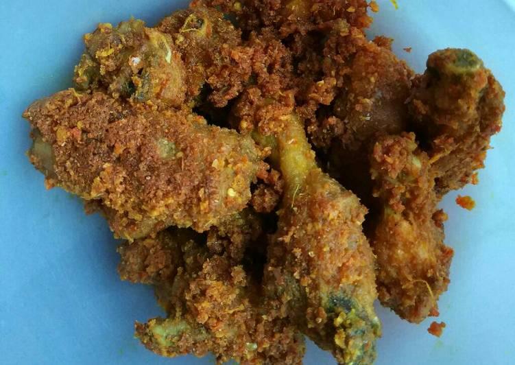 ayam bawang putih kencur (kesuna cekuh) gurih