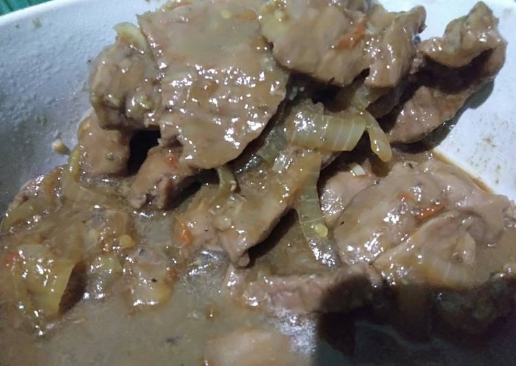 Hot Spicy Beef Yakiniku