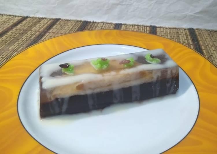 Pudding Marie Coklat