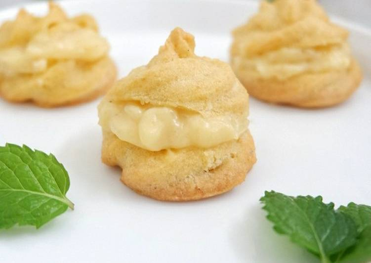 Choux pastry a.k.a soes fla