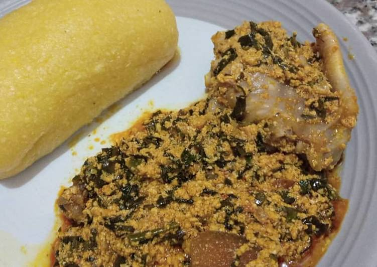 Step-by-Step Guide to Make Most Popular Egusi soup and eba