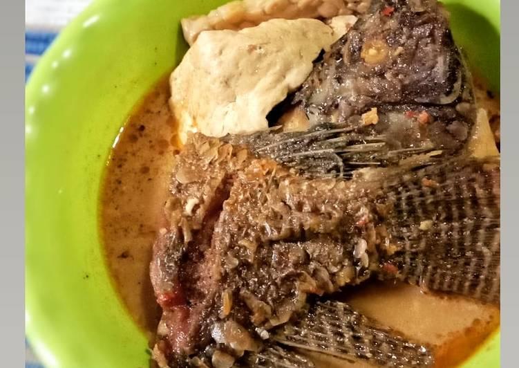 Semur Ikan Mujahir