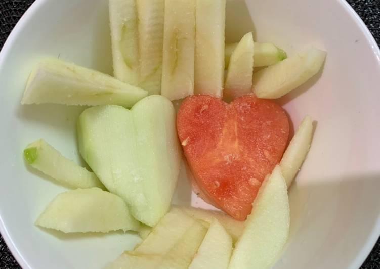 Valentine's salad