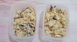 Hình ảnh món Trứng bác củ cải khô mộc nhĩ (Meal prep)