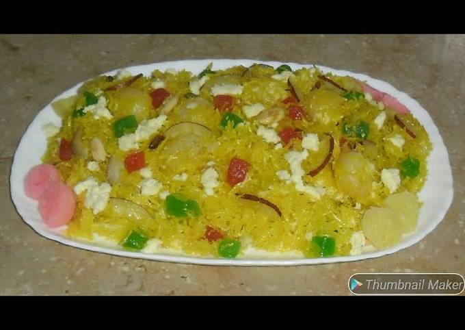 Shahi zarda #cookpadapp