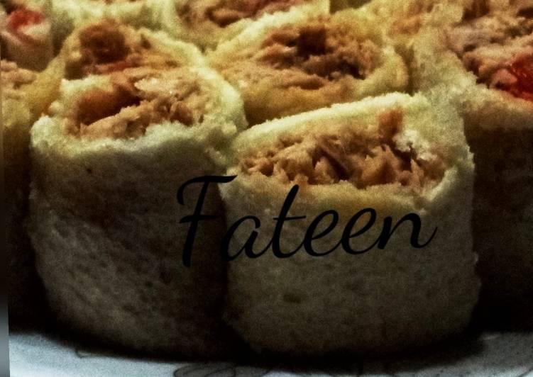 Tuna bread roll