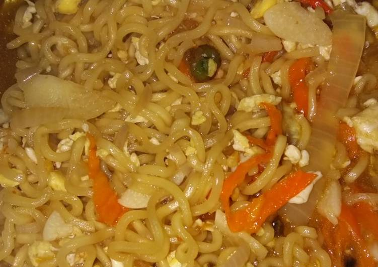 Resep Indomie kuah modifikasi dari indomie goreng Paling Gampang