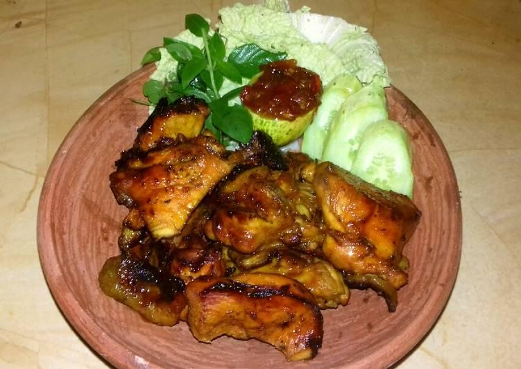 Resep Ayam bakar kecap pedas, Sempurna