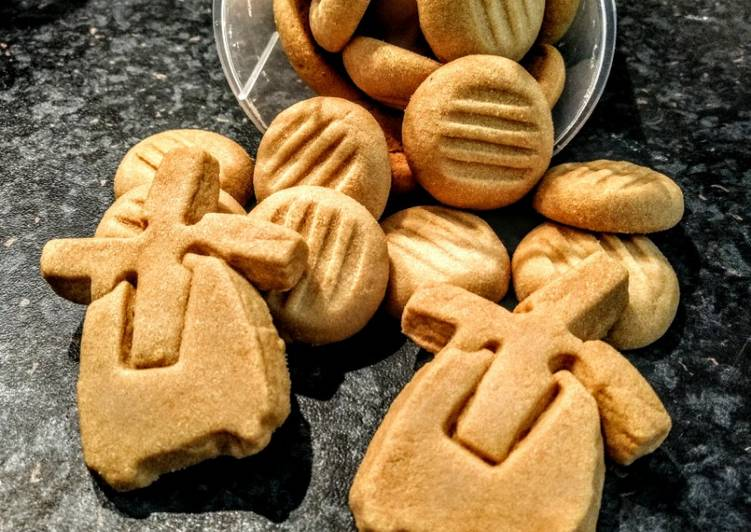 kue kering 3 bahan foto resep utama CaraBiasa.com