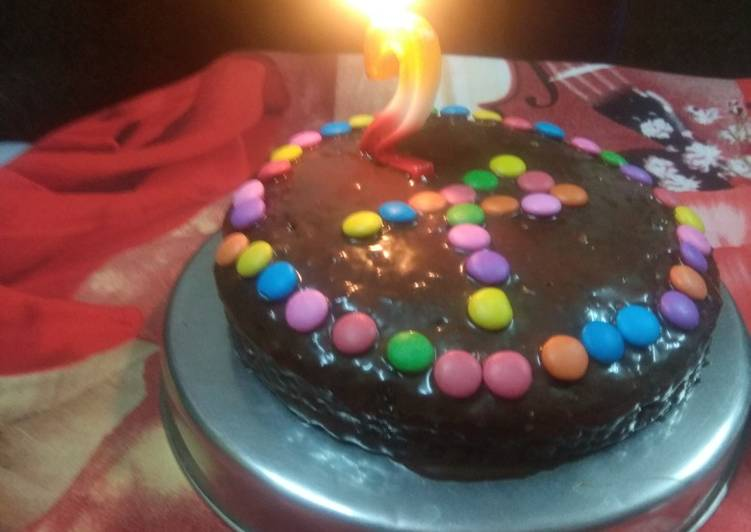Simple Way to Make Perfect Oreo cake baked in bati cooker