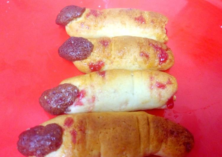 Recipe: Delicious Witch finger cookies