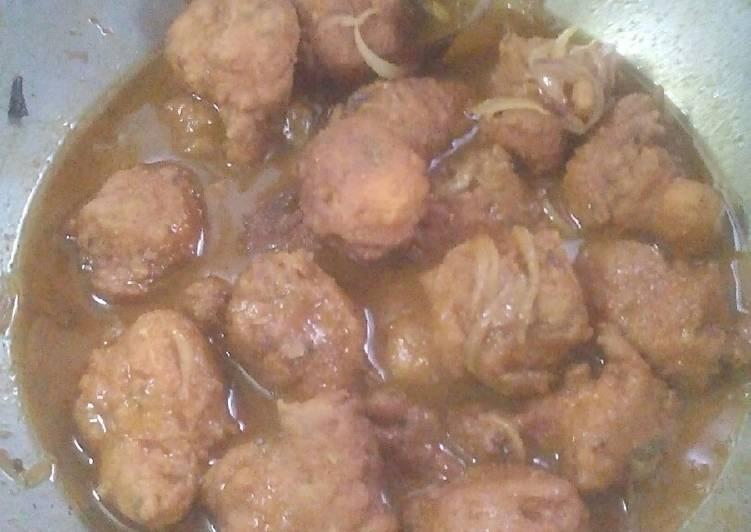 Fish Egg Dumpling Curry