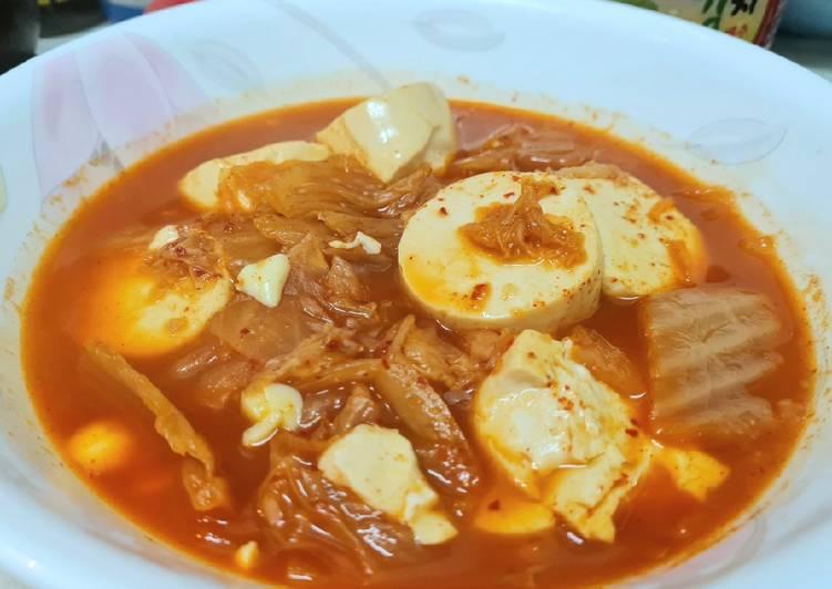 ซุปกิมจิ ง่ายสุดๆ