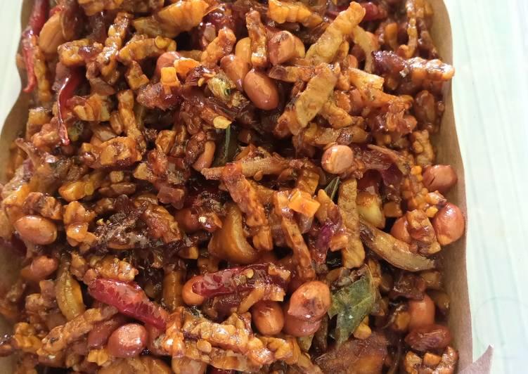 Resep Kering Tempe Teri Kacang Sederhana