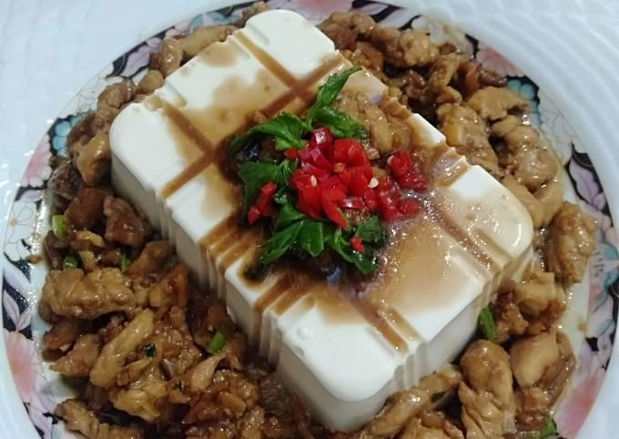 Silken Tofu With Chicken