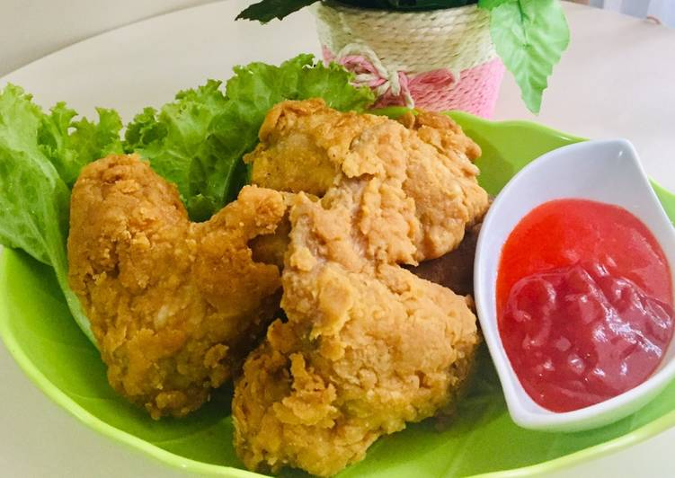 Ayam tepung ala KFC