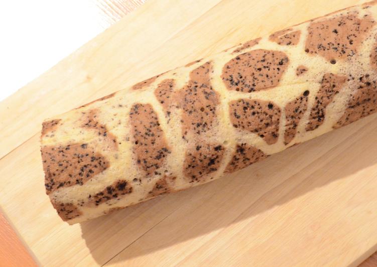 Recette Savoureux ☆Gâteau Roulé Girafe☆