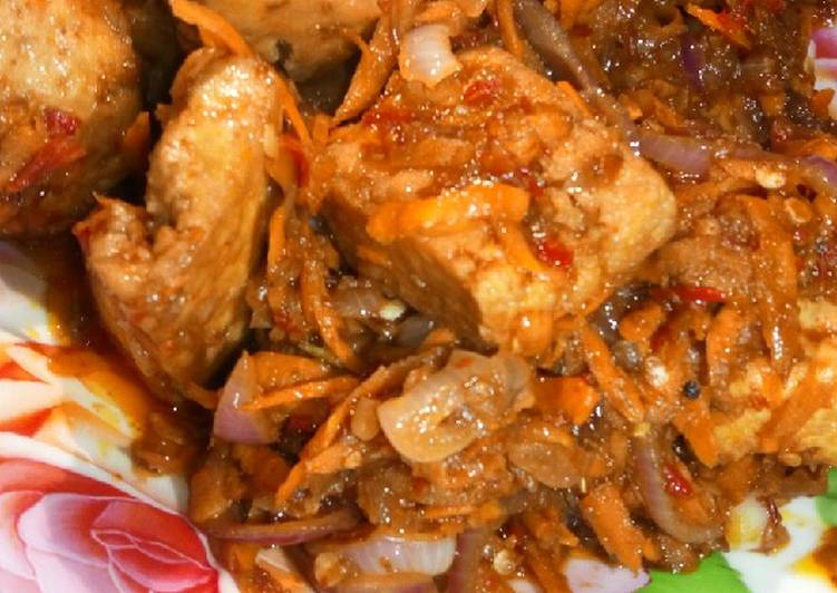 West African Foods Spicy tofu