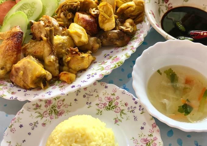 Nasi Ayam Special Mak Liha
