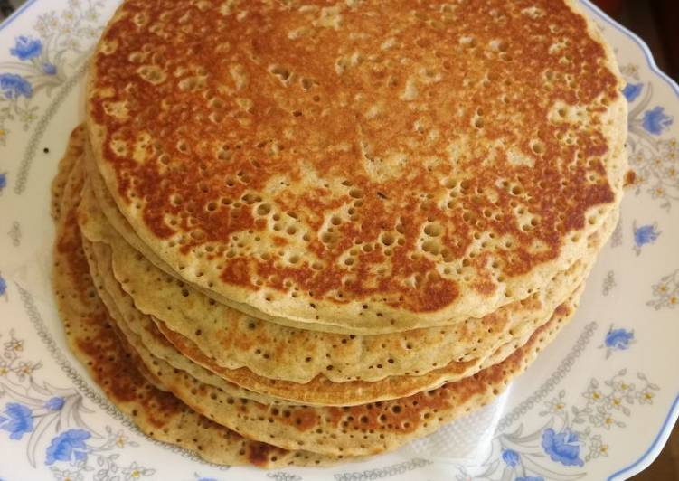 Easiest Way to Prepare Quick Fluffy pancakes