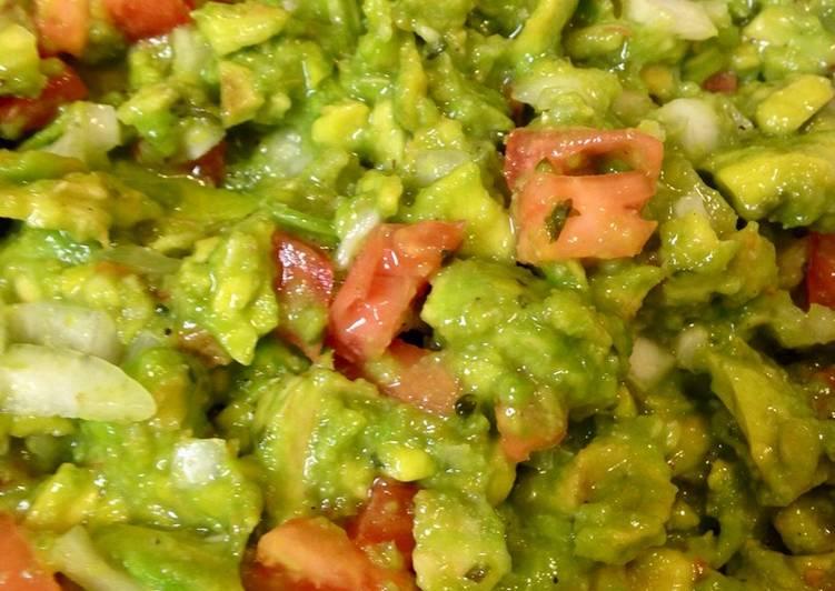 Recipe of Super Quick Homemade Guacamole