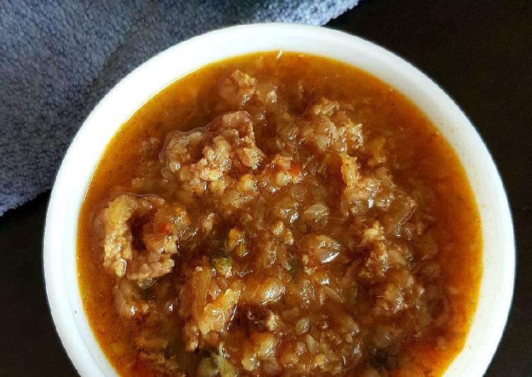 Mutton kheema /Kothu curry Masala