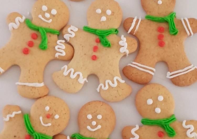 Comment Préparer Les Petits bonhommes de Noël sablés au pain d'épices