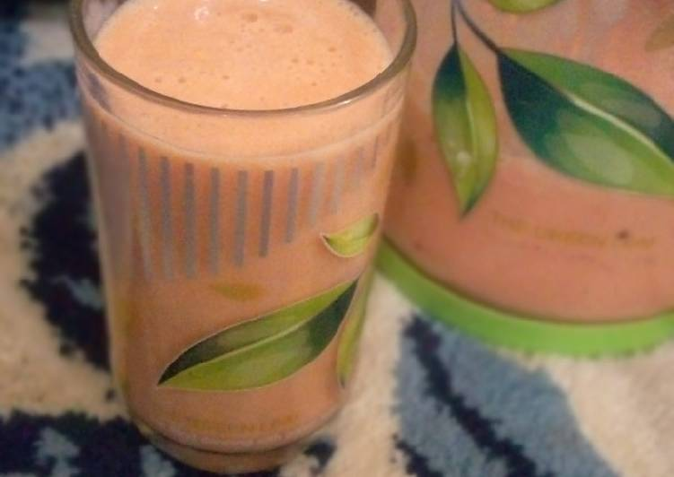 Mix fruit smoothie