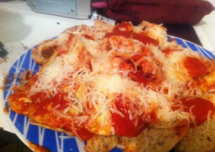 Nachos tipo pizza <3
