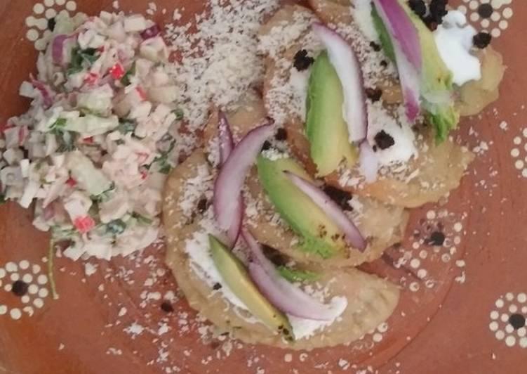 Empanadas de surimi