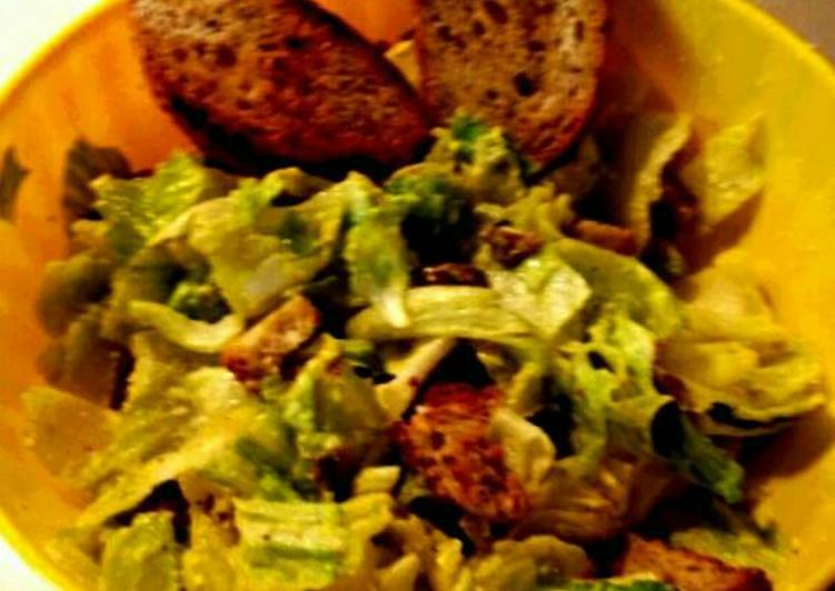 Simple Way to Prepare Quick Italian Caesar Salad
