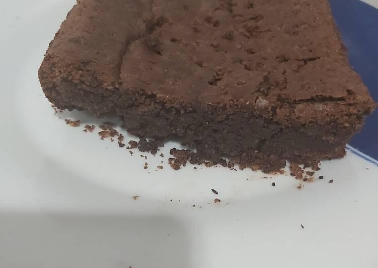 Brownie rápido de pistachos con Thermomix