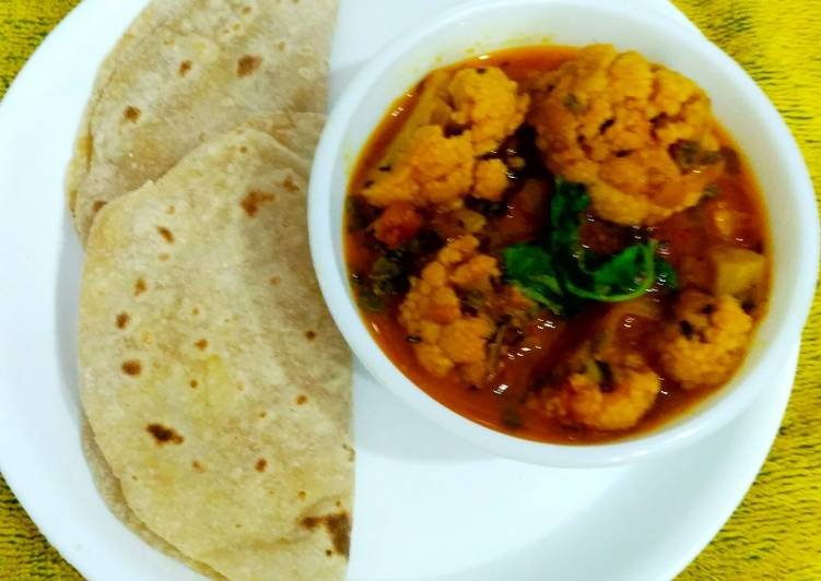 Gobhi Curry, Help Your To Be Healthy And Strong with Food