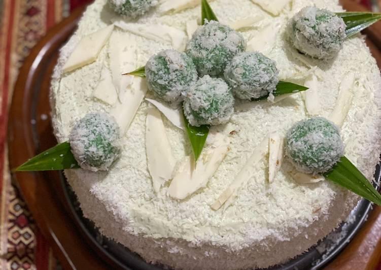 Cake tart Klepon... uenakkkk