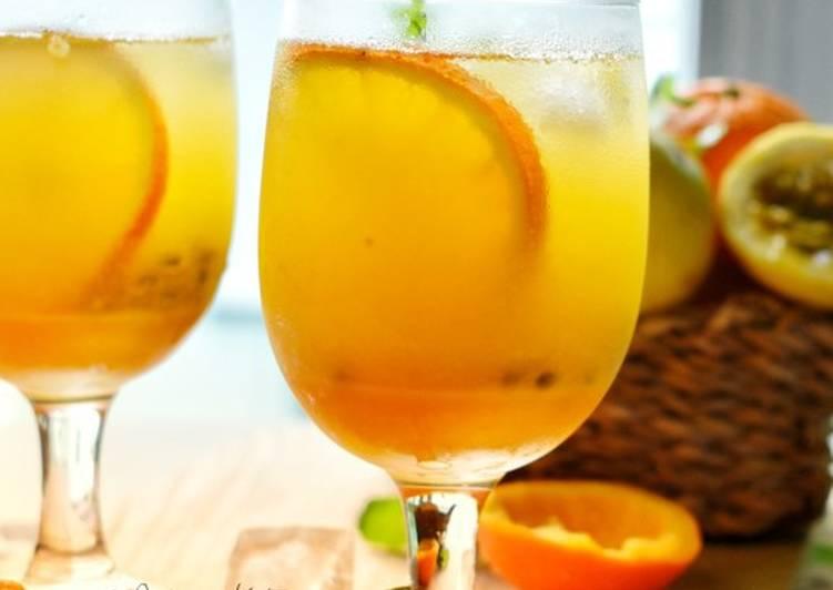Oren Markisa#Minuman#MaratonRaya - resepipouler.com