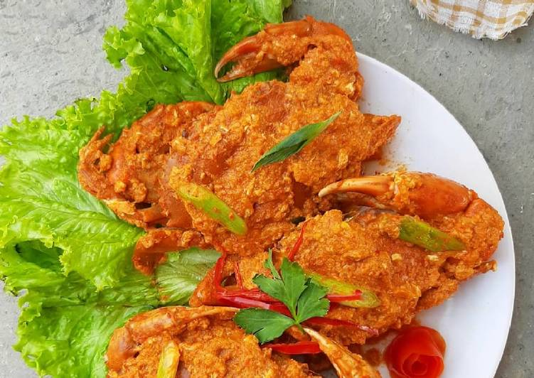 Kepiting Saus Singapore