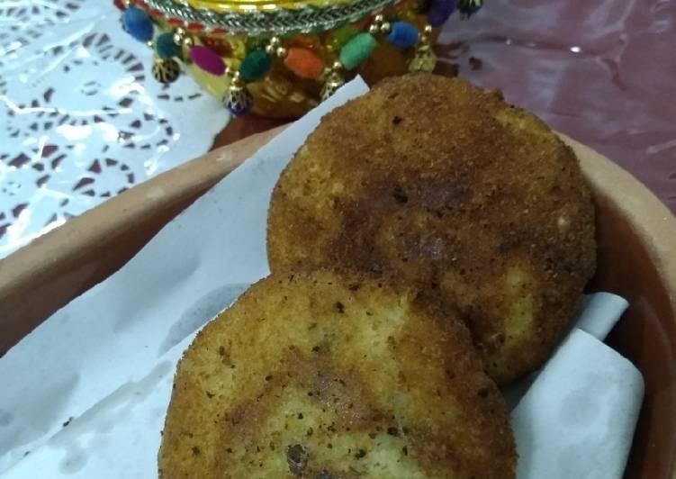 Masala cheese cutlets..