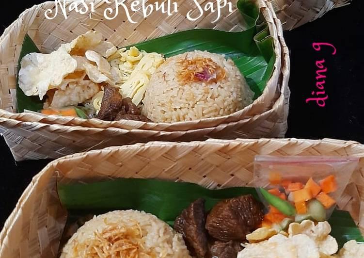 Nasi Kebuli Sapi(ricecooker) - cookandrecipe.com