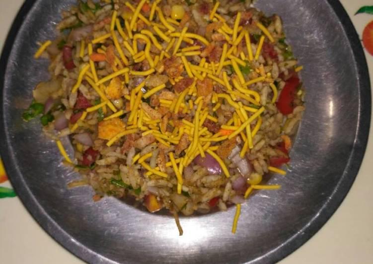 Corn masala bhelpuri