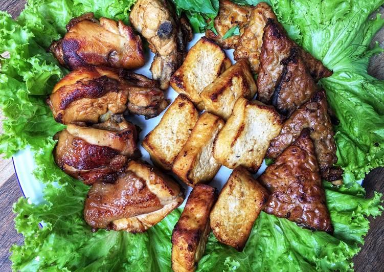 Ayam Tahu Tempe Bacem Gurih