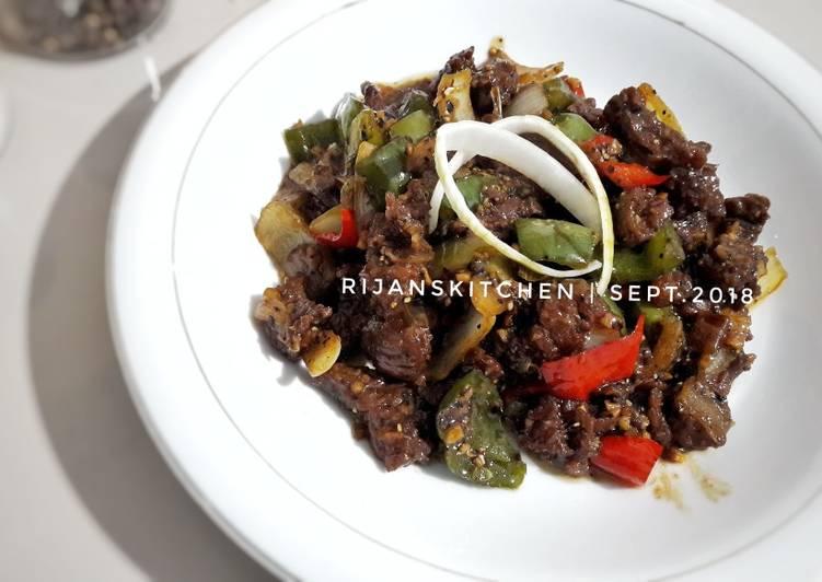 Beef Blackpapper (Sapi Lada Hitam)