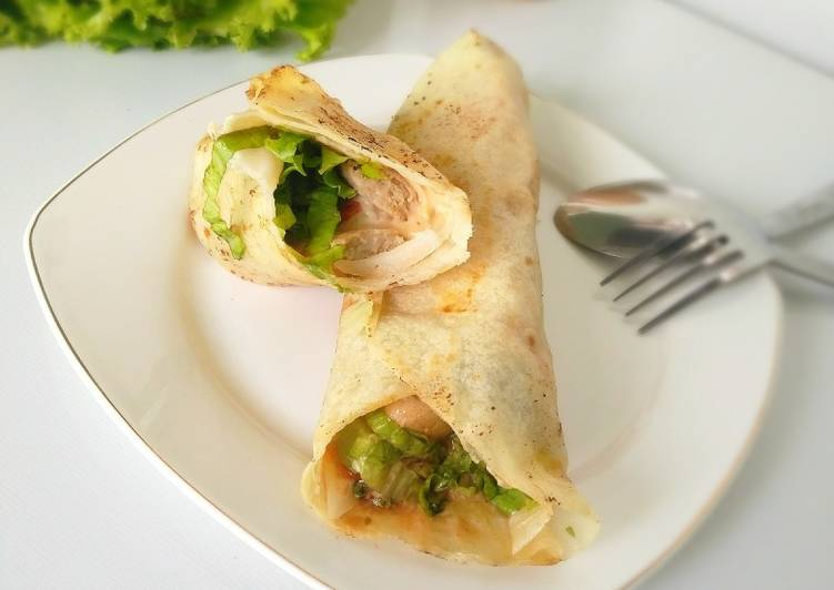 Resep Burritos Chicken Sausage Sosis Ayam Oleh Laila Dawud Cookpad